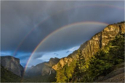 Yosemite Rainbow, Tunnel View