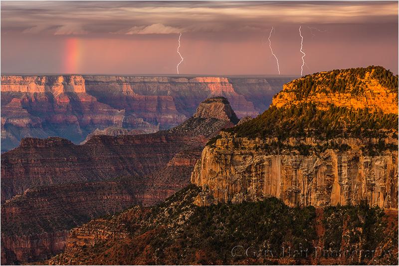 Three Strikes, Bright Angel Point, North Rim, Grand Canyon National Park