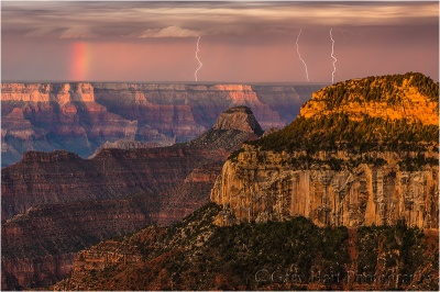 Three Strikes, Bright Angel Point, North Rim, Grand Canyon National Park