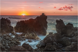 Daybreak, Laupahoehoe Point, Hawaii