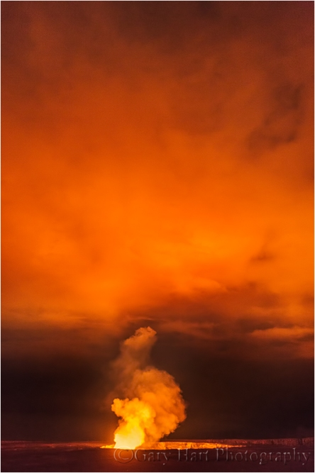 Gates of Hell, Halemaʻumaʻu Crater, Kilauea, Hawaii