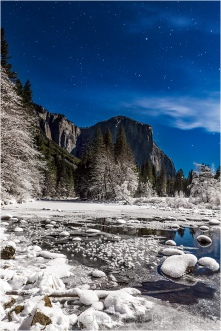 Moonlight Cathedral, Valley View, Yosemite