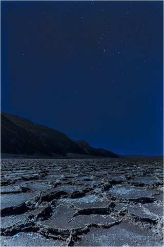 Orion, Badwater by Moonlight, Death Valley