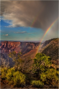 Rainbow, Lipan Point, Grand Canyon