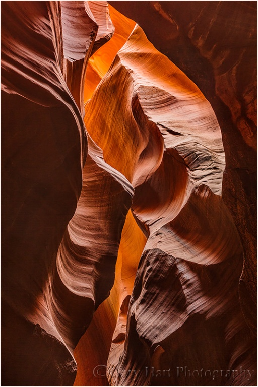 Inner Glow, Upper Antelope Canyon, Arizona