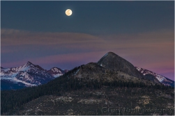 Moonrise, Mt. Starr King, Yosemite