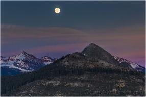 Moonrise, Mt. Starr King, Yosemite