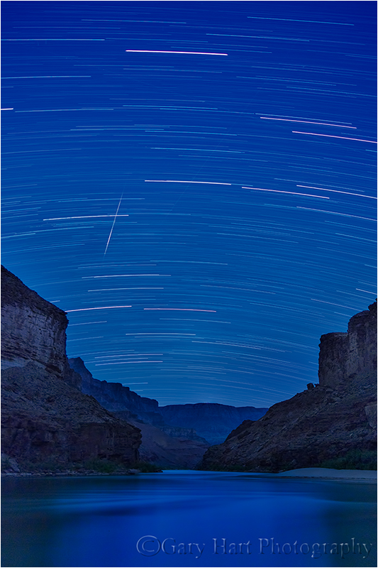 Sky in Motion, Colorado River and the Grand Canyon, Arizona