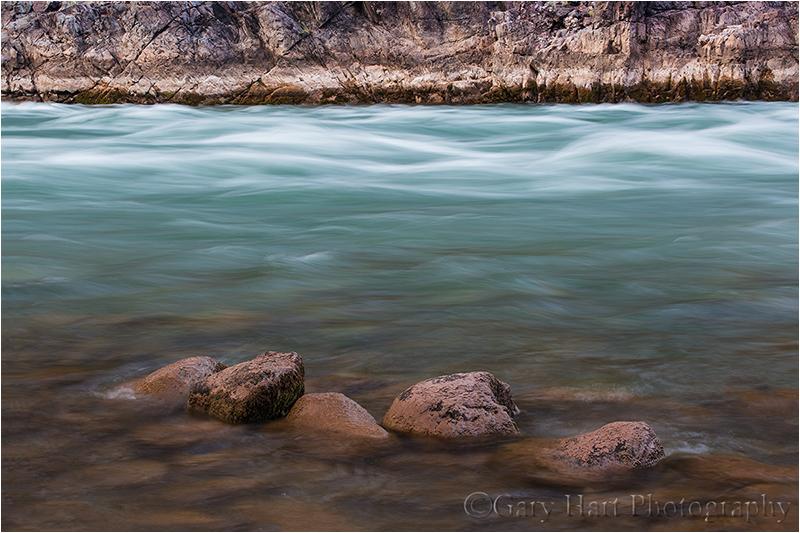 River Rocks, Colorado River, Grand Canyon