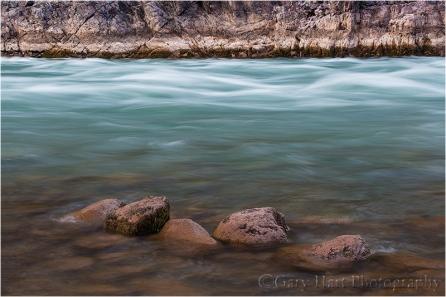 River Rocks, Colorado River, Inner Grand Canyon