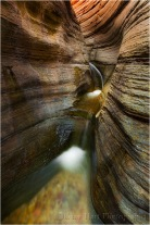 Slot Cascade, Matkatamiba Canyon, Inner Grand Canyon