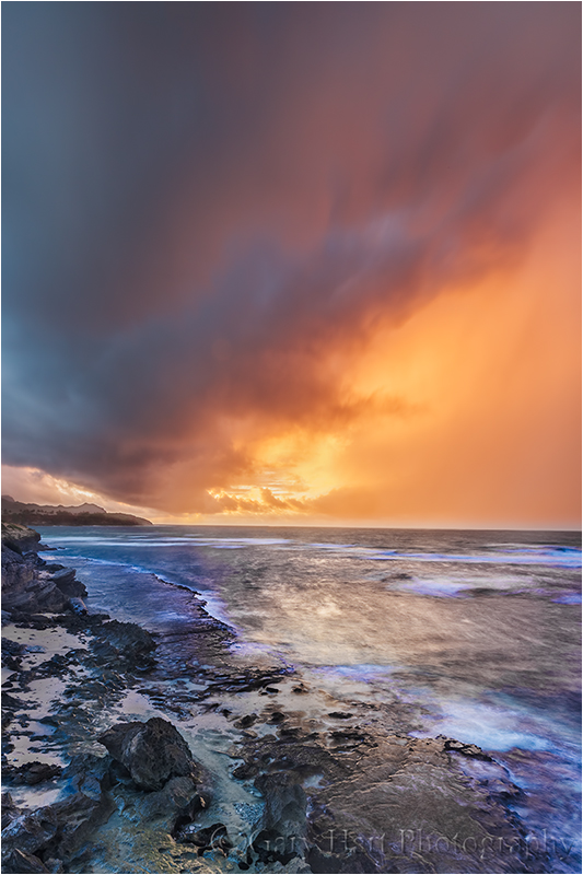 Sunrise Storm, Kauai, Hawaii