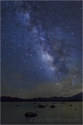 Summer Night, Milky Way and Mono Lake