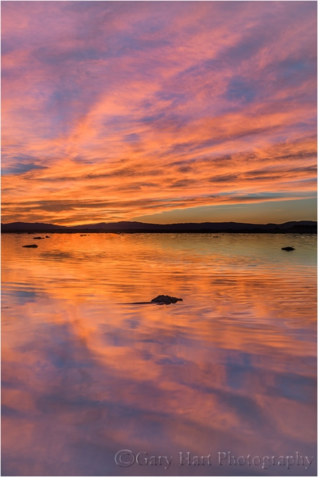 Sunrise Fire, Mono Lake