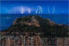 Electric Night, Grand Canyon Lodge, North Rim, Grand Canyon