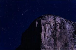 Gary Hart Photography, Cassiopeia Above El Capitan, Yosemite