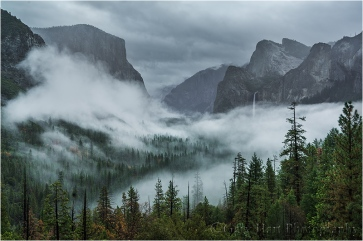 Clearing Storm, Yosemite Valley, Yosemite