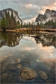 Gary Hart Photography, Rocks and Reflection, Valley View, Yosemite
