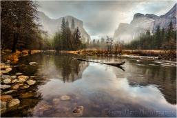 Gary Hart Photography,Clearing Storm Reflection, Valley View, Yosemite
