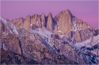Gary Hart Photography: Alpenglow, Mt. Whitney, California