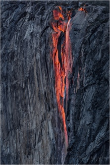 Gary Hart Photography: Horsetail Fall, El Capitan, Yosemite