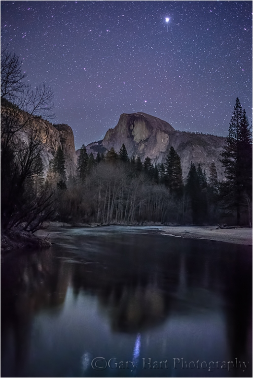 Starlight, Half Dome, Yosemite