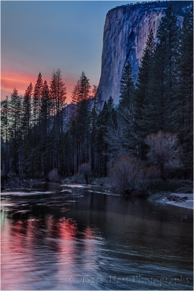 Gary Hart Photography: Sunset Reflection, El Capitan, Yosemite