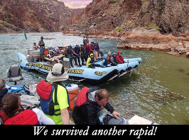 Gary Hart Photography: Grand Canyon Rapid Survivors
