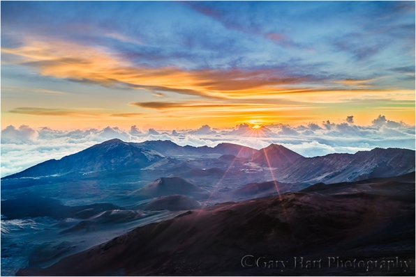 Gary Hart Photography: Top of the World, Haleakala Volcano, Maui