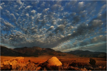 Gary Hart Photography: Rock and Clouds, Mono Craters, California