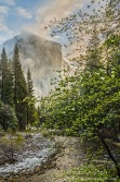 Gary Hart Photography: Spring Snow, El Capitan, Yosemite