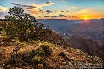 Gary Hart Photography: Sunset, Navajo Point, Grand Canyon