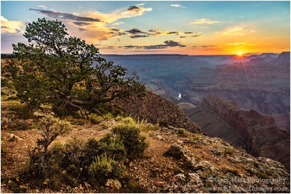 Gary Hart Photography: Sunset, Navajo Point, Grand Canyon