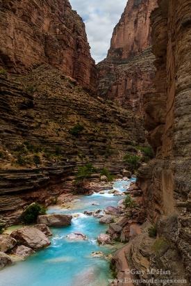 Gary Hart Photography: Blue Ribbon, Havasu Creek, Inner Grand Canyon
