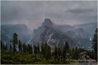 Gary Hart Photography: Sierra Lightning, Half Dome, Yosemite