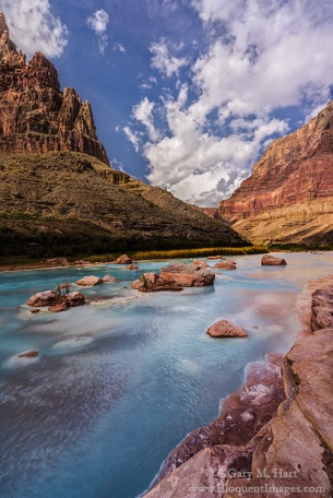 Gary Hart Photography: Red, White, and Blue, Little Colorado River, Grand Canyon