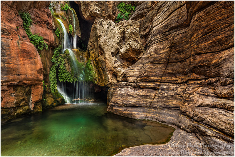 Gary Hart Photography: Emerald Pool, Elve's Chasm, Grand Canyon