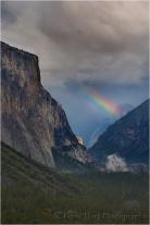 Gary Hart Photography: Natural Prism, El Capitan and Half Dome, Yosemite