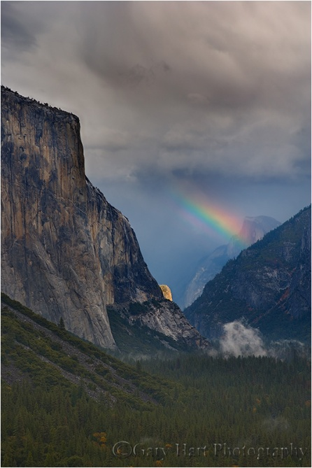 Gary Hart Photography: Natural Prism, El Capitan and Half Dome, Yosemite