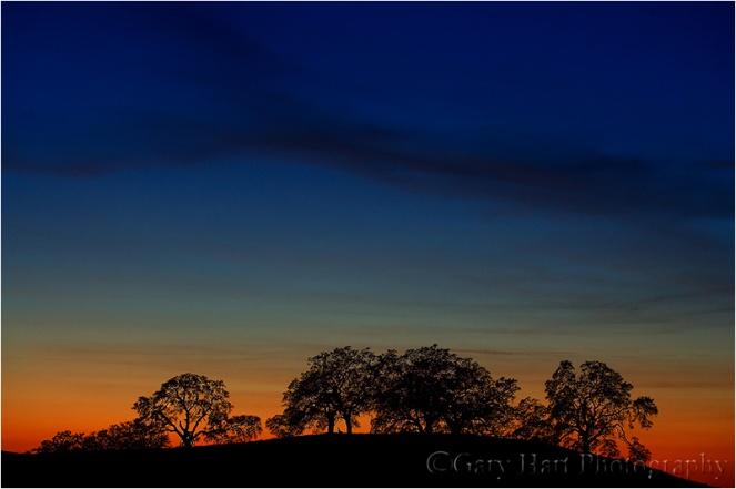 Gary Hart Photography: Tequila Sunset, Sierra Foothills, California