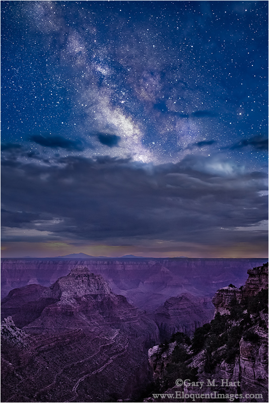 Gary Hart Photography: Angel's View, Milky Way from Angel's Window, Grand Canyon