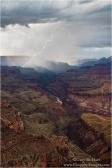 Gary Hart Photography: Lightning Strike, Lipan Point, Grand Canyon