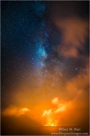 Gary Hart Photography: Starfire, Halemaumau Crater, Kilauea, Hawaii