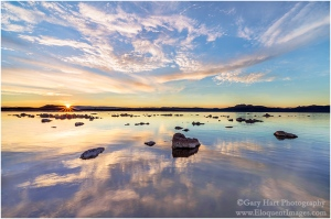 Sunrise Starburst, Mono Lake