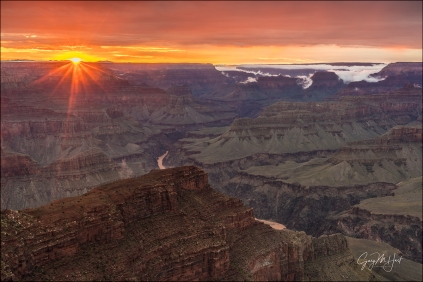 Gary Hart Photography: Grand Canyon Sunset, Hopi Point, Grand Canyon