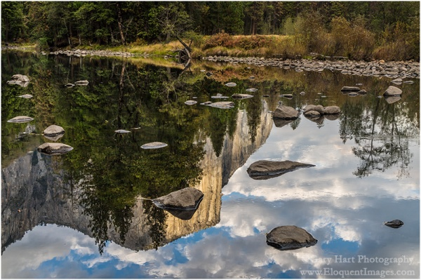 Gary Hart Photography: Reflection on the Rocks, El Capitan, Yosemite