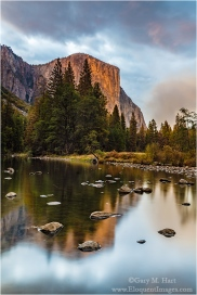 Gary Hart Photography: On the Rocks, El Capitan and the Merced River, Yosemite