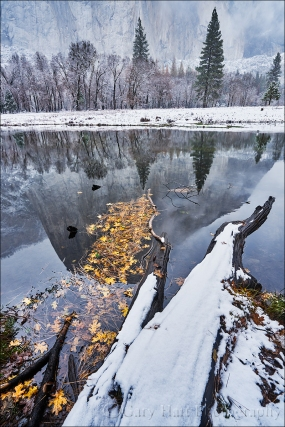 Gary Hart Photography: Winter Arrives, El Capitan, Yosemite