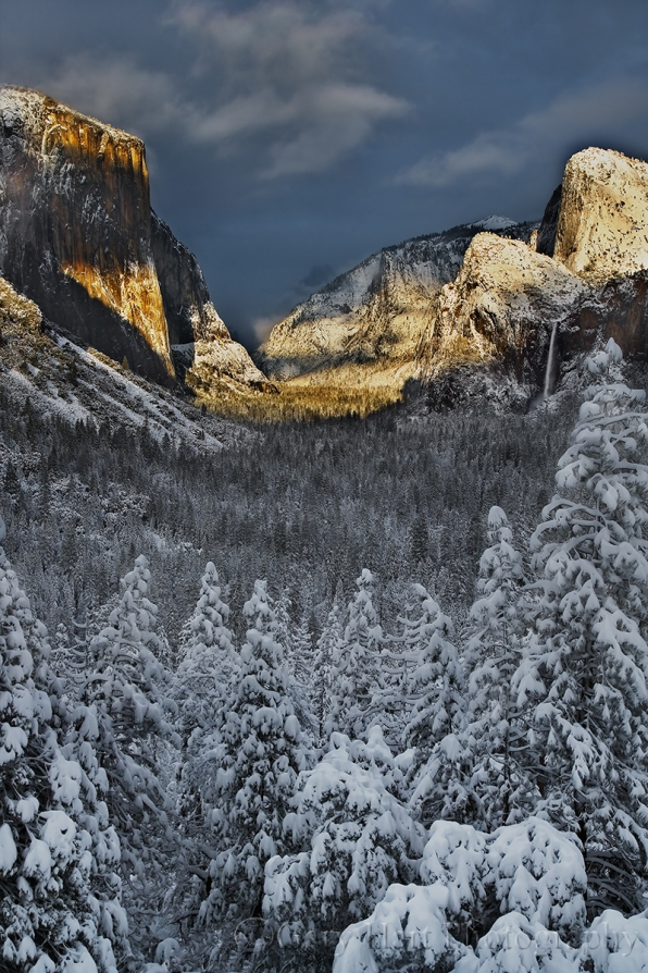 Gary Hart Photography: Storm's End, Tunnel View, Yosemite