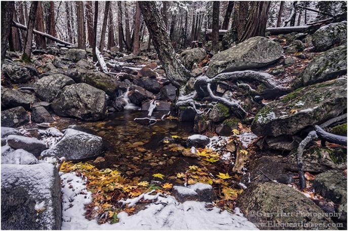 Gary Hart Photography: Secret Pool, Bridalveil Creek, Yosemite